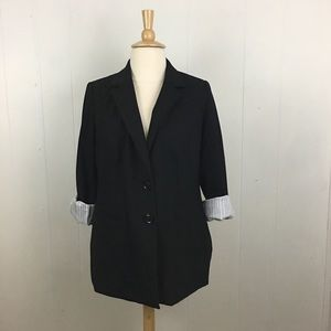 Lane Bryant 2 Button Blazer Jacket